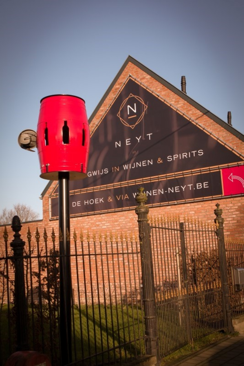 Iedereen welkom bij wijnhandel Neyt!